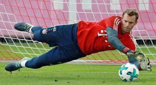 拜仁慕尼黑队的曼努埃尔诺伊不确定德国的世界杯状态